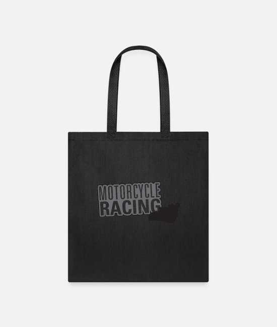 Sport Climbing Bags & Backpacks - Motor Sport Titles Motorcycle Racing - Tote Bag black