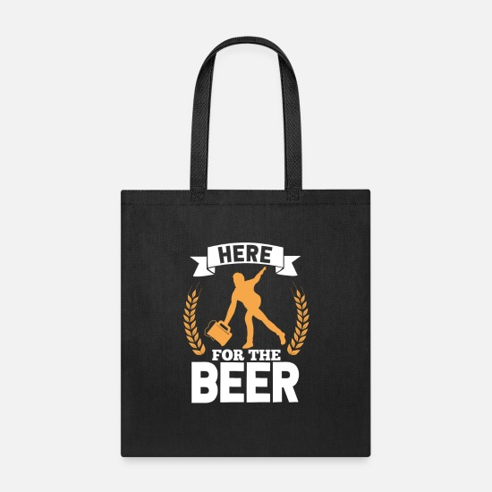 Bowling Bags & Backpacks - Bowling Beer - Tote Bag black