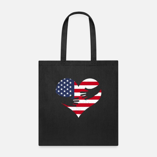 Patriot Bags & Backpacks - USA Patriot - Tote Bag black