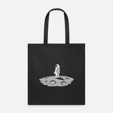 Heavenly Astronaut on the moon - Tote Bag