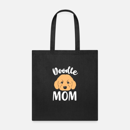 Mummy Bags & Backpacks - Goldendoodle Doodle Dog Mom - Tote Bag black