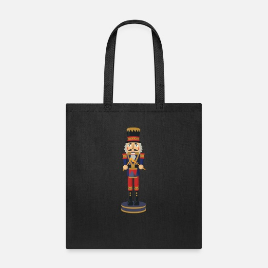 Christmas Bags & Backpacks - nussknacker nutcracker weihnachten christmas santa - Tote Bag black