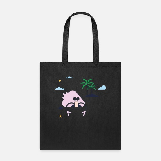 Shell Bags & Backpacks - Crab Shell - Tote Bag black