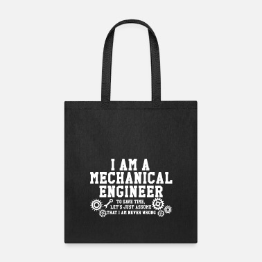 Mechanical Engineering Mechanical engineer - Tote Bag