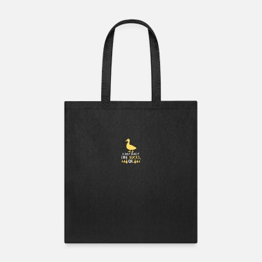 Baby Shower Funny Duck Gifts Funny Bird Lover Fowl Animal Gift - Tote Bag