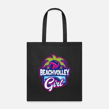Beach Volleyball Girl - Tote Bag