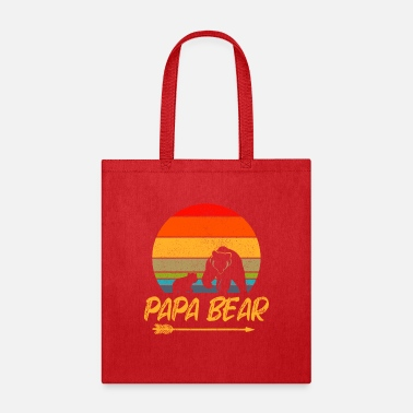 Father's Day Papa bear Design great gift Papa - Tote Bag