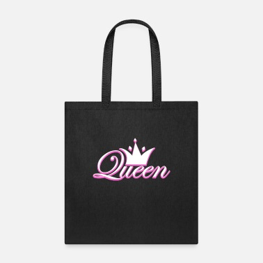 Kingdom Crown Crowns King Queen JGA Wedding Bride Groom - Tote Bag