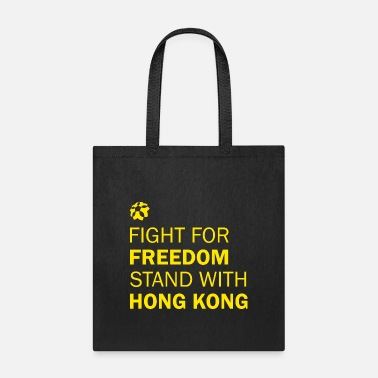 Freedom Of Expression Fight For Freedom Stand With Hong Kong Tshirt - Tote Bag