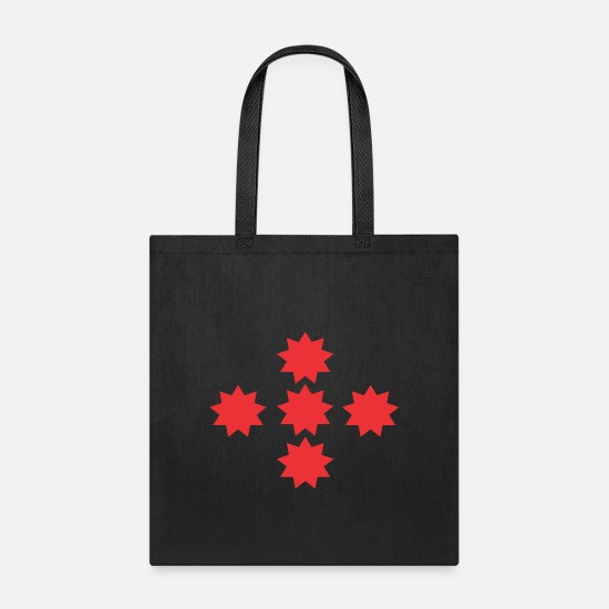 Ball Bags & Backpacks - spiked ball - Tote Bag black
