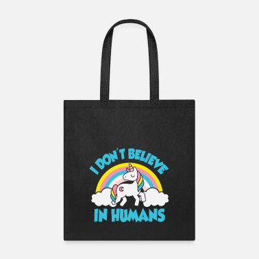 Christmas 12_I don't believe in humans - Tote Bag