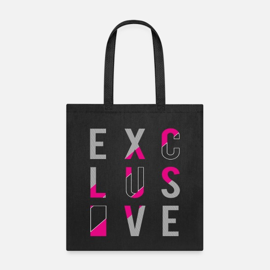 Exclusive Bags & Backpacks - Exclusive - Tote Bag black