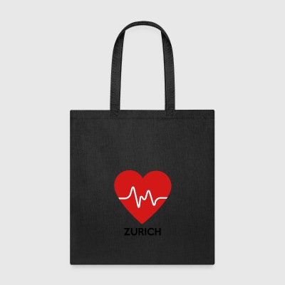 Heart Zurich - Tote Bag