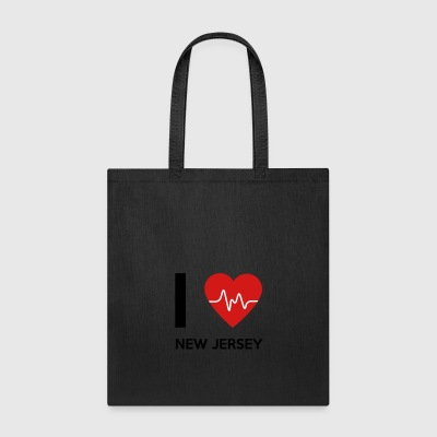 I Love New Jersey - Tote Bag