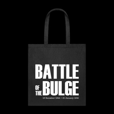 Battle of the Bulge (White) - Tote Bag