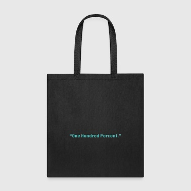 One Hundred Percent (green) - Tote Bag