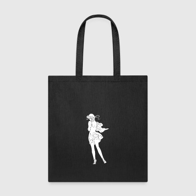 pinup_girl_with_open_ass - Tote Bag
