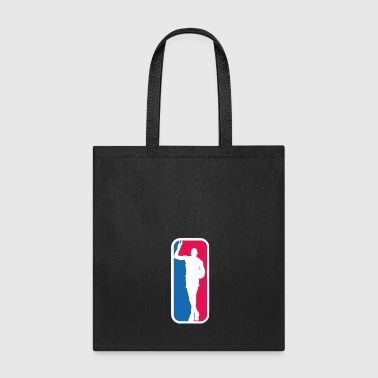 Magic Johnson as the NBA logo - Tote Bag