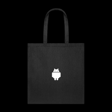 little robot (android) white - Tote Bag