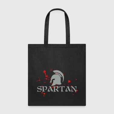 Spartan - Blood splatter - Tote Bag