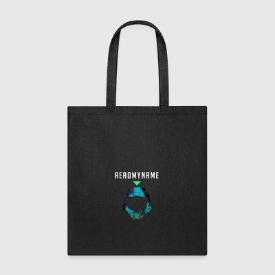 Blue Camo ReadMyName Emblem - Tote Bag