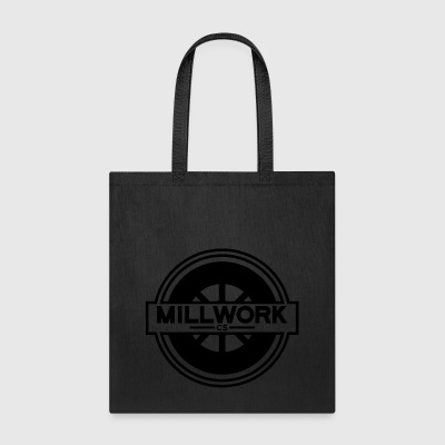 Millwork CS Wheel - Tote Bag