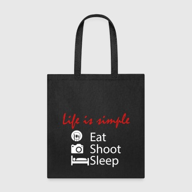 eat shoot sleep - Tote Bag