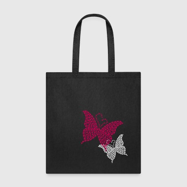 Studded Butterfly - Tote Bag