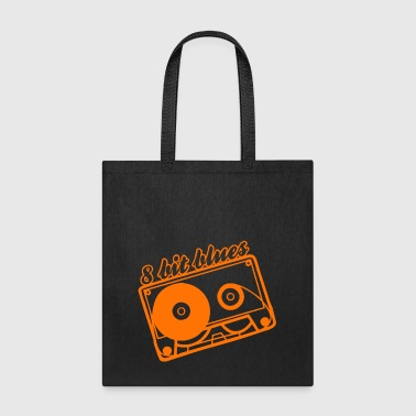 8 bit blues - Tote Bag
