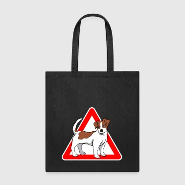 Jack Russell Terrier Dog - Tote Bag