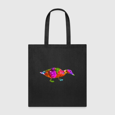 Colorful Duck - Tote Bag