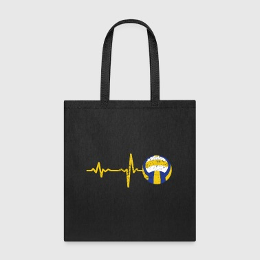 gift heartbeat volleyball - Tote Bag