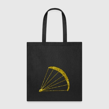 Golden Paraglider - Tote Bag