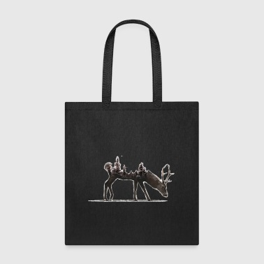 Deer - Save the Forest - Tote Bag