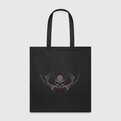 Ornament Skull - Tote Bag