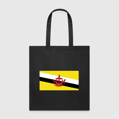 Brunei country flag love my land patriot - Tote Bag