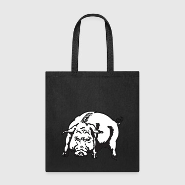 Angry Pig Animal Hog Piggy Mammal 45976 - Tote Bag