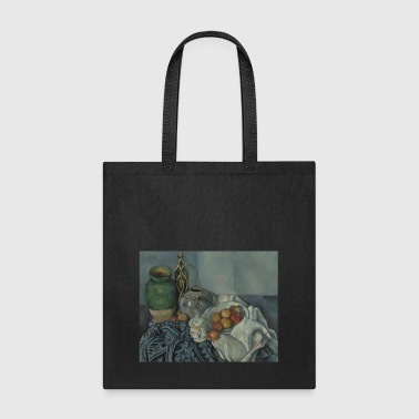 Still Life with Apples by Getty Cezanne - Tote Bag