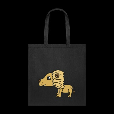 sweet lion dad , gift idea for lion fans and kids - Tote Bag