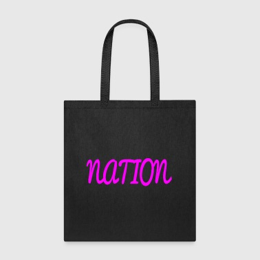 NATION - Tote Bag