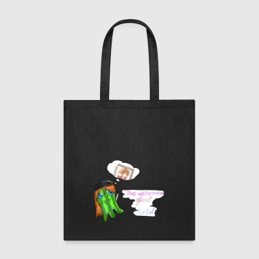 The watermelon ghost artist - Tote Bag