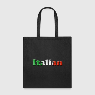 italian flag - Tote Bag
