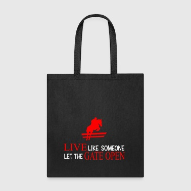 Horse Love for Horseowner strong quote present - Tote Bag