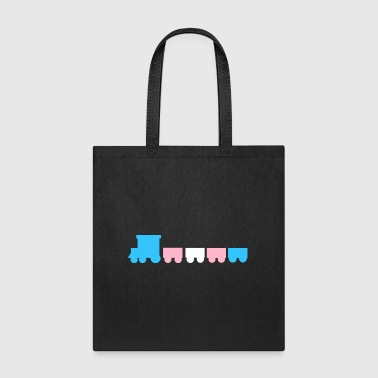 trans train - Tote Bag