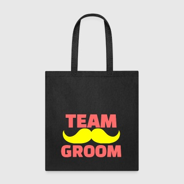 GIFT - TEAM GROOM RED - Tote Bag