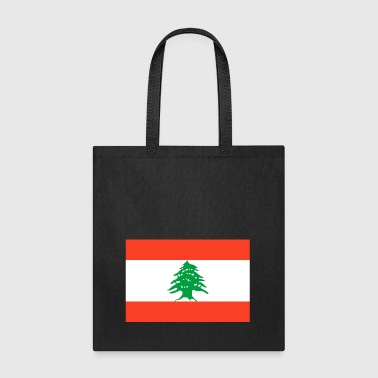 Lebanon country flag love my land patriot - Tote Bag