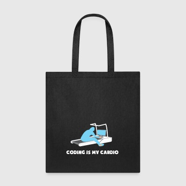 Coding Is My Cardio Software Engineer Developer - Tote Bag