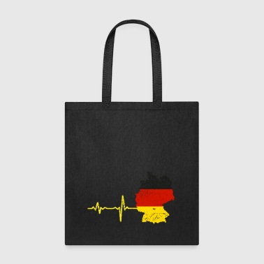 Heartbeat Germany gift - Tote Bag
