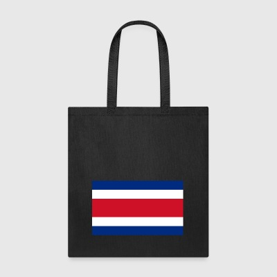Costa Rica country flag love my land patriot - Tote Bag
