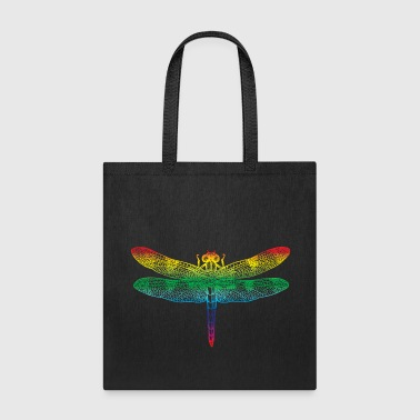 Rainbow Dragonfly - Tote Bag